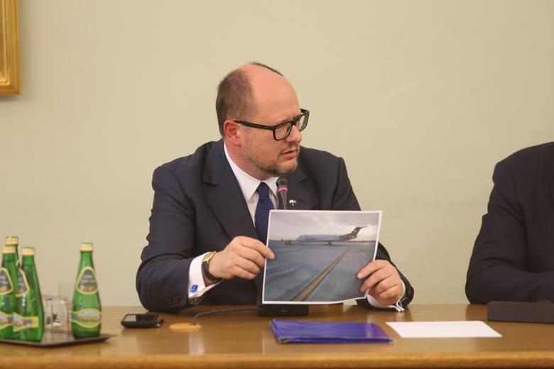 Paweł Adamowicz przed komisją Amber Gold