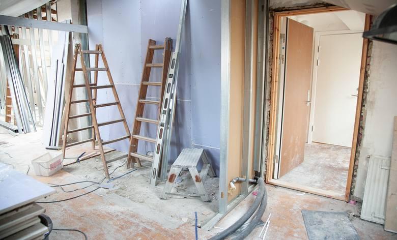 Mieszkanie możemy również remontować zimą
