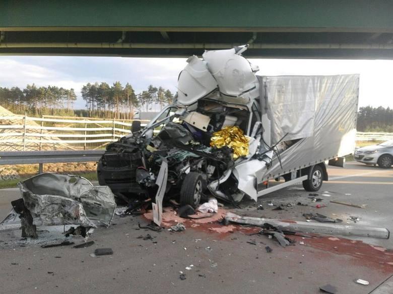 Śmiertelny wypadek na A4 pod Bolesławcem - 15 września 2017