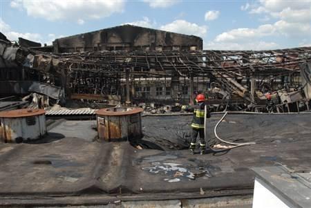 Ponad 25 mln zł strat po pożarze (zobacz filmy)