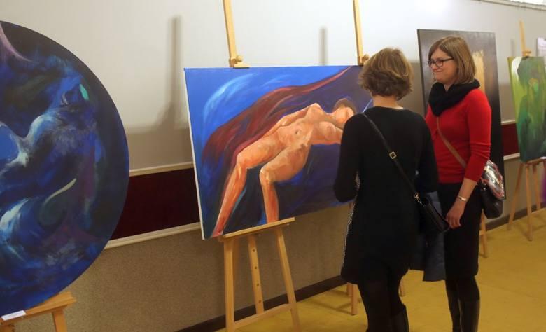 Wystawę prac malarskich Jarczyńskiego można oglądać jeszcze przez dwa tygodnie w hallu ChCK.<br />
