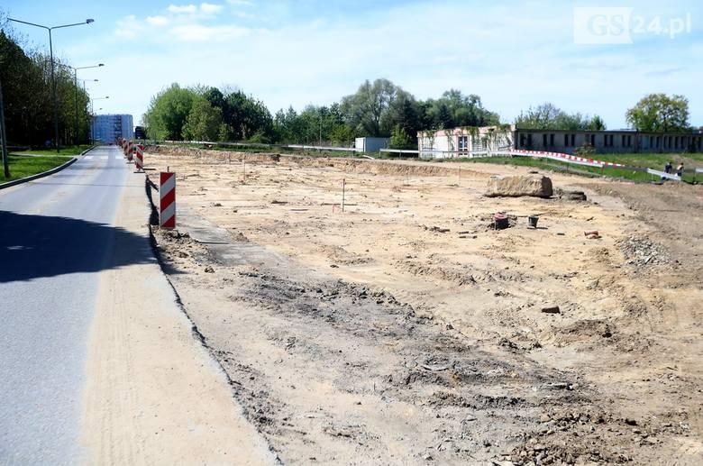 Trwa przebudowa ul. Arkońskiej w Szczecinie [ZDJĘCIA]