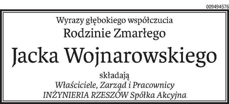 Nekrologi i Kondolencje z dnia 18 grudnia 2019 roku