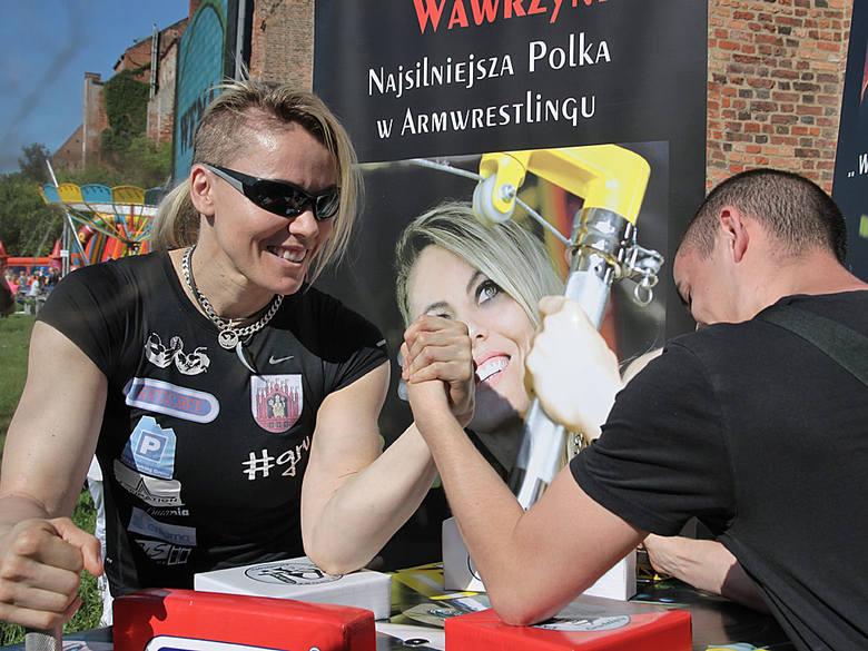 Rodzinny festyn parafialny Św. Ducha w GrudziądzuPróba pokonania Marleny Wawrzyniak