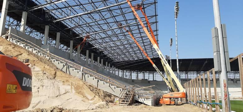 Stadion Pogoni Szczecin - 28 kwietnia 2020.