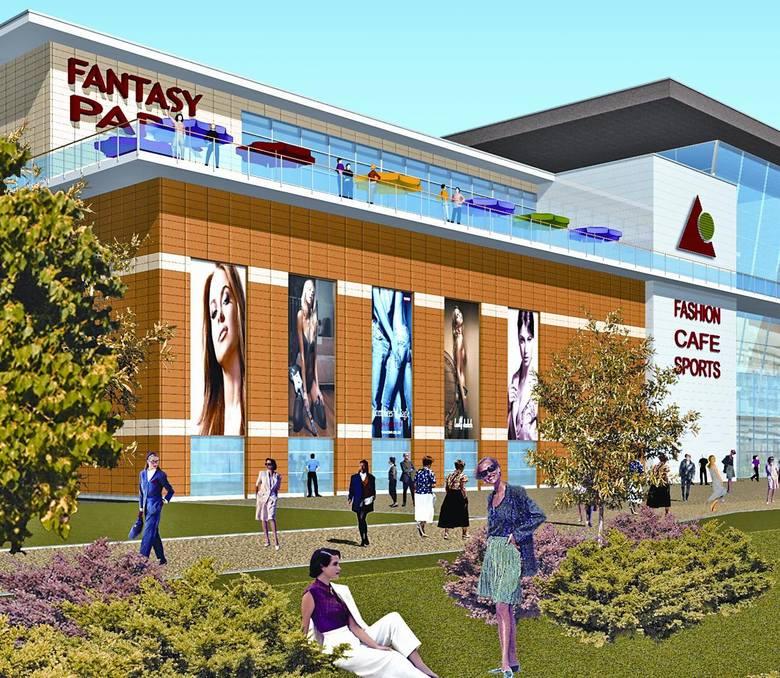 Nowe centrum handlowo - rozrywkowe Plaza Center w Kielcach powstanie prawdopodobnie około roku 2011