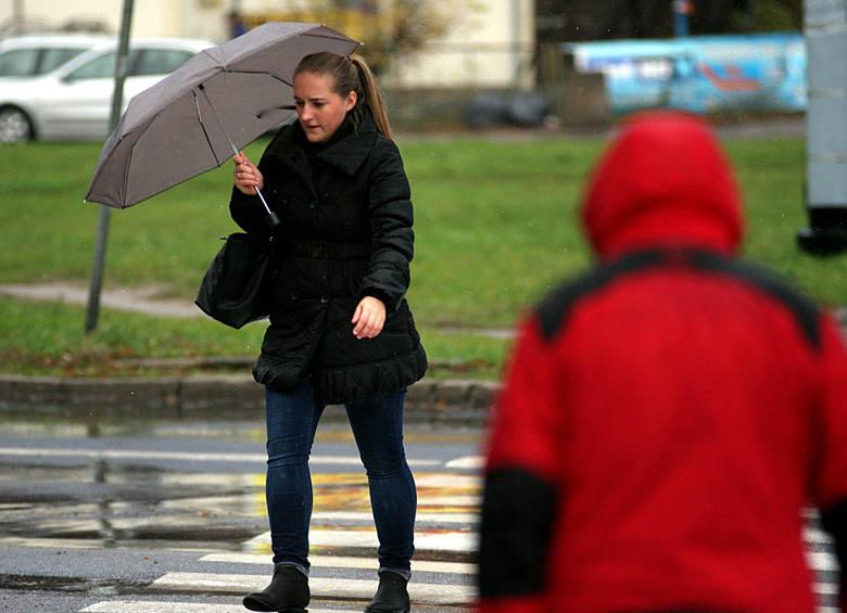Pogoda w Wielkopolsce: Sobota zimna i deszczowa