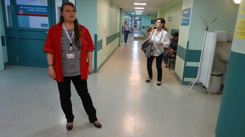 Alina Łukasik, konsultant wojewódzka w dziedzinie medycyny ratunkowej i ordynator SOR-u w szpitalu przy ul. Lutyckiej przyznaje wprost, że u niej na