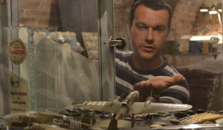 Można tutaj obejrzeć kolekcję modeli Adama Gawlika