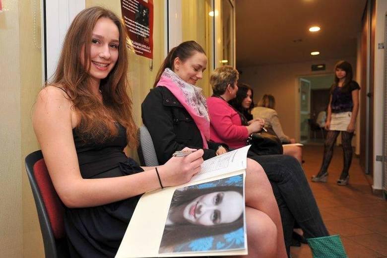 Casting na Miss Polonia Województwa Podlaskiego 2013