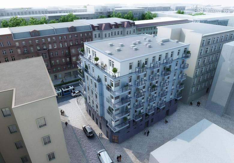 Nowa inwestycja przy Pomorskiej 44. Ponad 80 proc. sprzedanych mieszkań (WIZUALIZACJA)