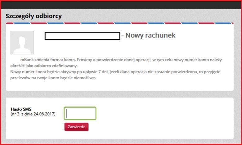 Uważaj na złośliwe oprogramowanie generujące fałszywy komunikat w mBanku!