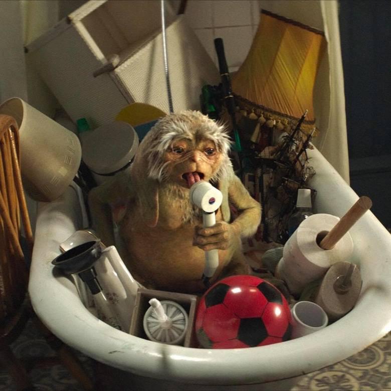 """Film """"Czworo dzieci i coś"""", premiera: 3 lipcaPiaskoludek magiczny stworek o uroku E.T. i mądrości Yody ma niezwykłą moc spełniania"""