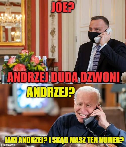 Internet komentuje telefon Andrzeja Dudy do króla Jordanii. Obejrzyj memy na kolejnych slajdach galerii