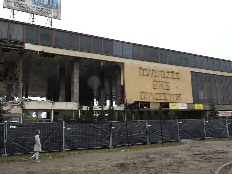 Dworzec PKS Białystok jest burzony