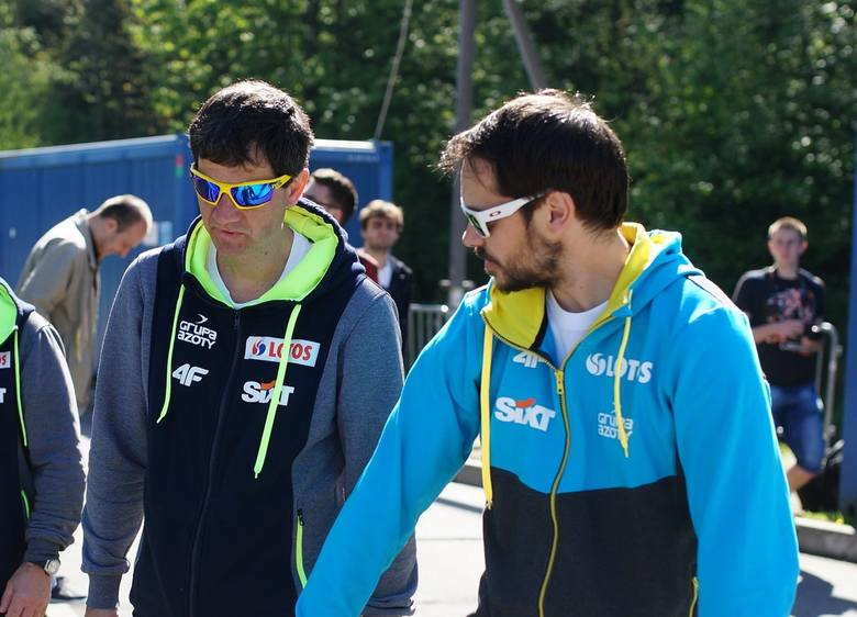 Stefan Horngacher i Michal Doleżal