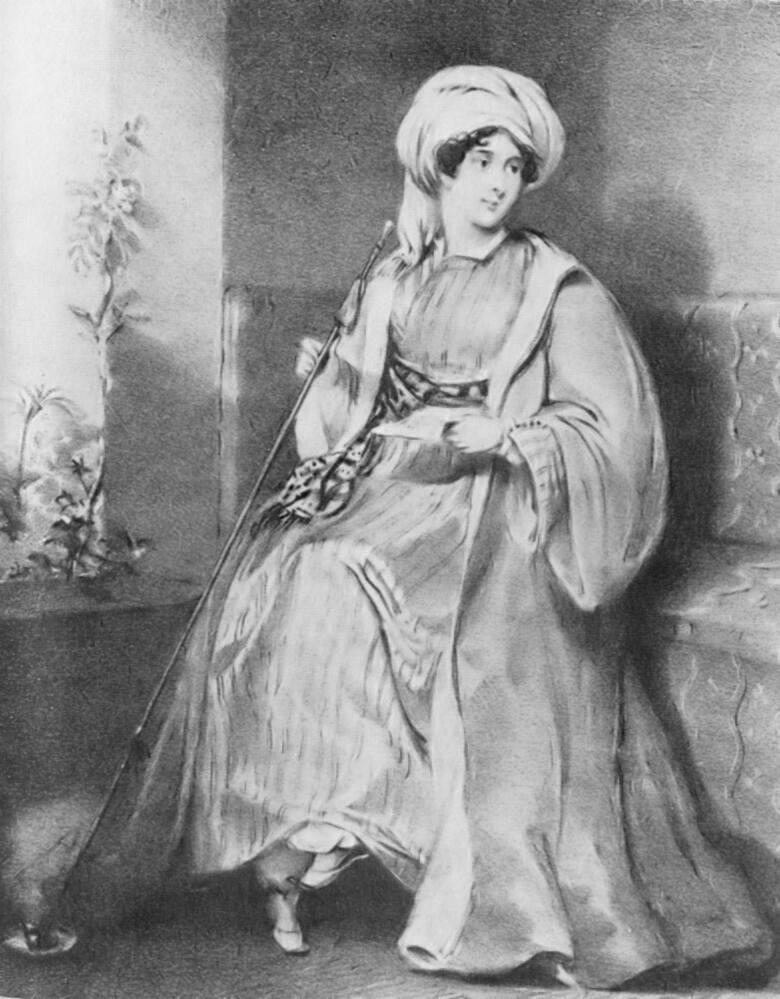 Hester Stanhopeur. 12 marca 1776, zm. 23 czerwca 1839Brytyjska podróżniczka, jedna z najbardziej ekscentrycznych osobowości swojej epoki.Hester od początku