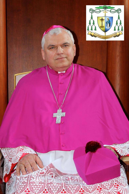 Ksiądz biskup Jacek Pyl