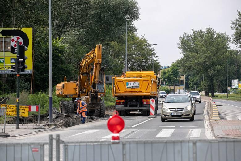 Remonty w Krakowie: most Nowohucki