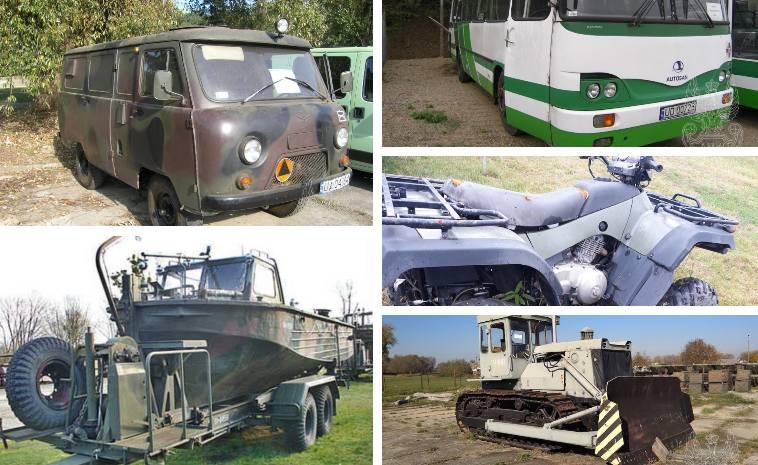 Wojskowe hity z demobilu! Agencje Mienia Wojskowego często organizują przetargi na sprzęt z demobilu, wykorzystywany dotąd przez wojsko. Można nabyć