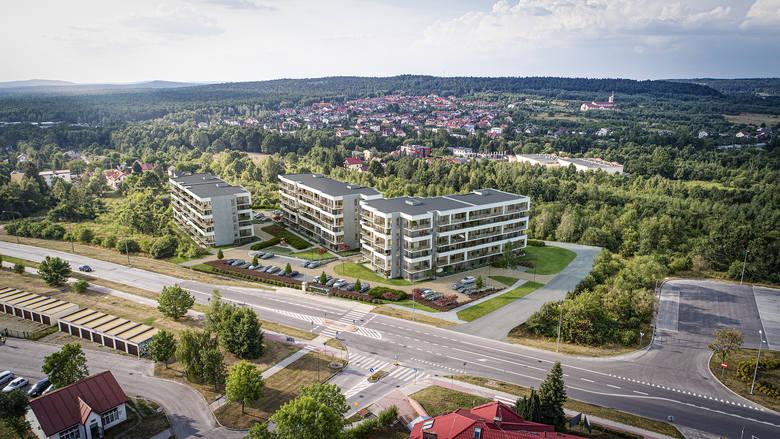 W osiedlu Na stoku, północnej dzielnicy Kielc wkrótce ruszy budowa osiedla Nowy Stok. Inwestycja ma składać się z trzech bloków realizowanych w trzech