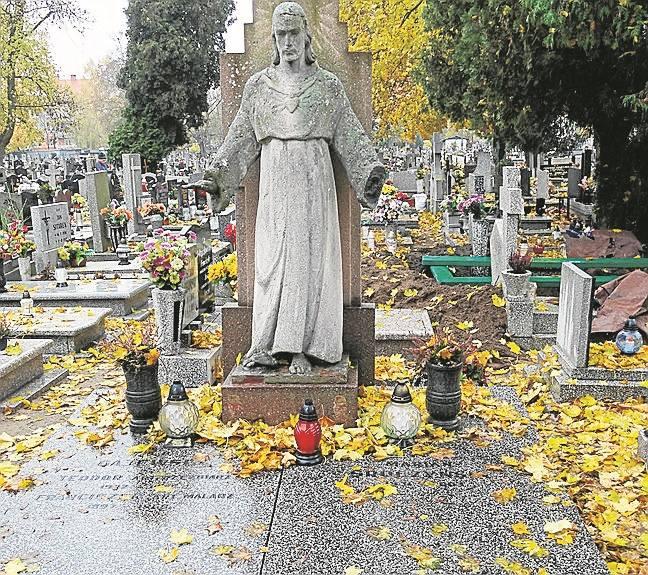 Rodzinny grobowiec Franciszka i Teodora Gajewskich.