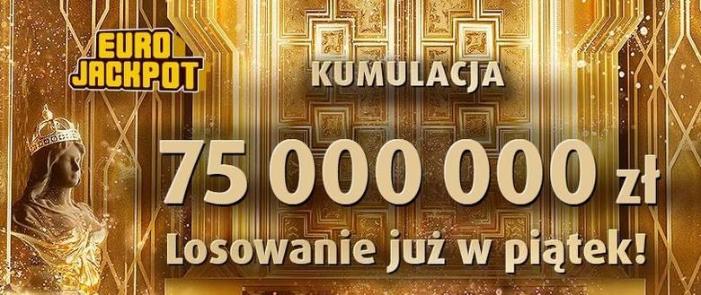 EUROJACKPOT WYNIKI 12 07 2019. Eurojackpot 12 lipca 2019. Do wygrania było 75 mln zł [wyniki, numery, zasady]