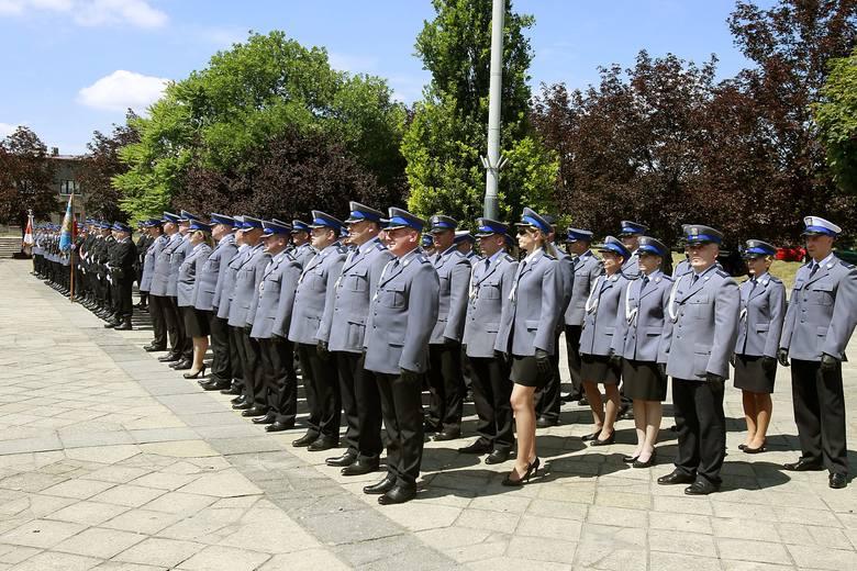 Święto policji w Łódzkiem. Tak wyglądały wojewódzkie obchody w Zgierzu [ZDJĘCIA]