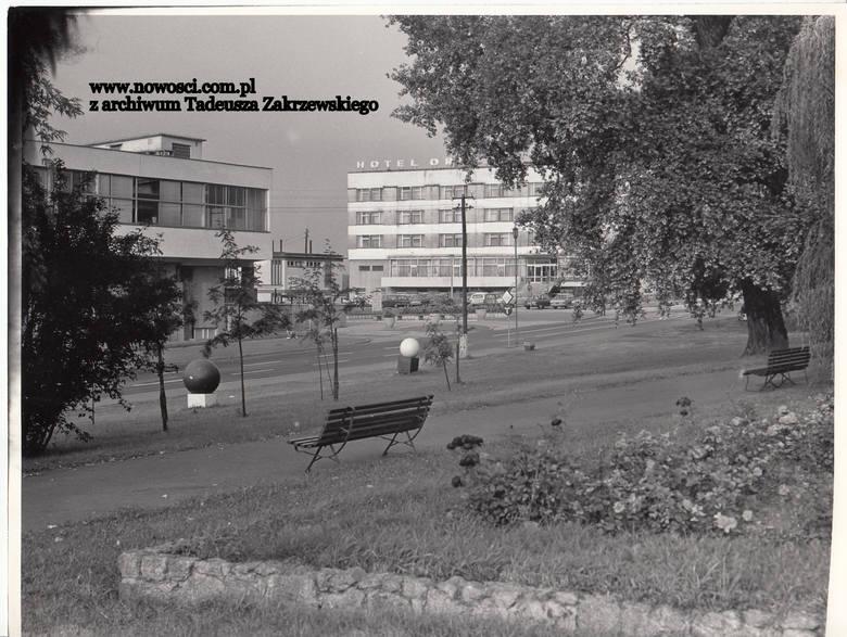 Wodnik, Kosmos, zieleń i ławki.Czytaj też:Niepublikowane zdjęcia z lat 70. Osiedla w budowieTak wyglądał Toruń w latach 70.Toruń z lat 70. w kolorze