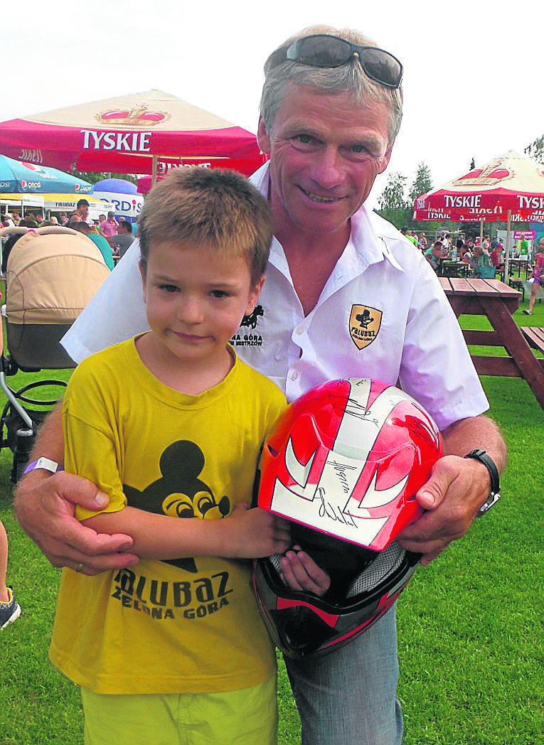 Oskar Cieślak w weekend podreperował swoje konto.