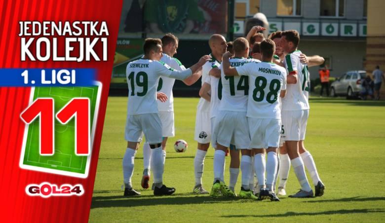 Niesamowity ścisk zrobił się w czołówce tabeli. Tak naprawdę szansę na awans do Ekstraklasa ma... pół ligi. Na całego trwa także walka o utrzymanie.