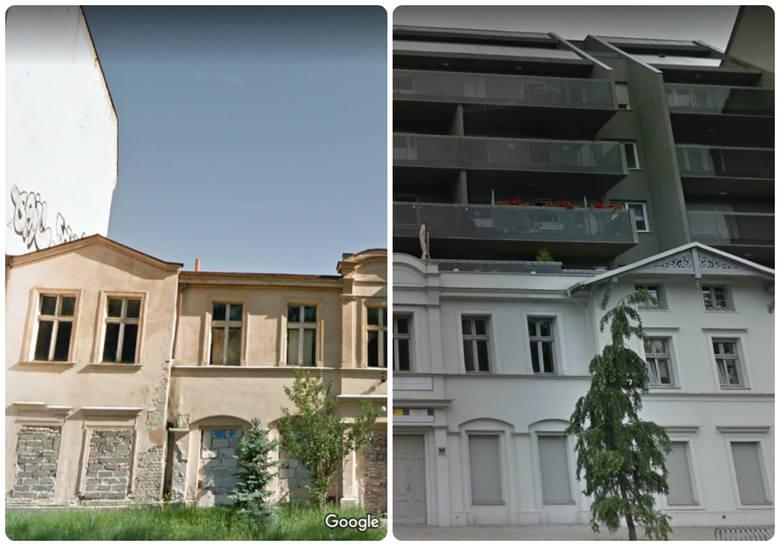 Google Street View umożliwia w niektórych przypadkach sprawdzenie archiwalnych zdjęć ulic i budynków. Dzięki temu można zaobserwować, jakie zmiany zaszły