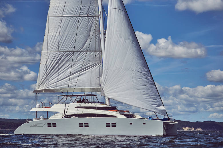 Jacht Sunreef 88 Double Deck zwyciężył w konkursie Christofle Yacht Style Award w kategorii najlepszy katamaran powyżej 15 metrów
