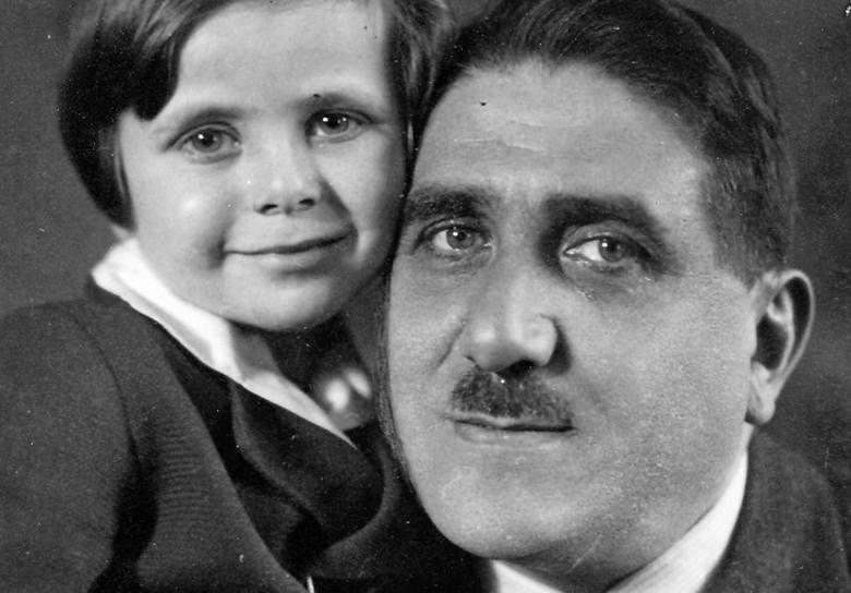 Aleksander Margolis z córką Alą