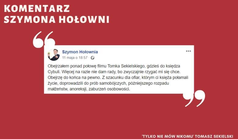 """""""Tylko nie mów nikomu"""": Film Sekielskiego wywołuje ogromne emocje. Hołownia: Rzygać mi się chce ZOBACZ KOMENTARZE [16. 5. 2019 r.]"""