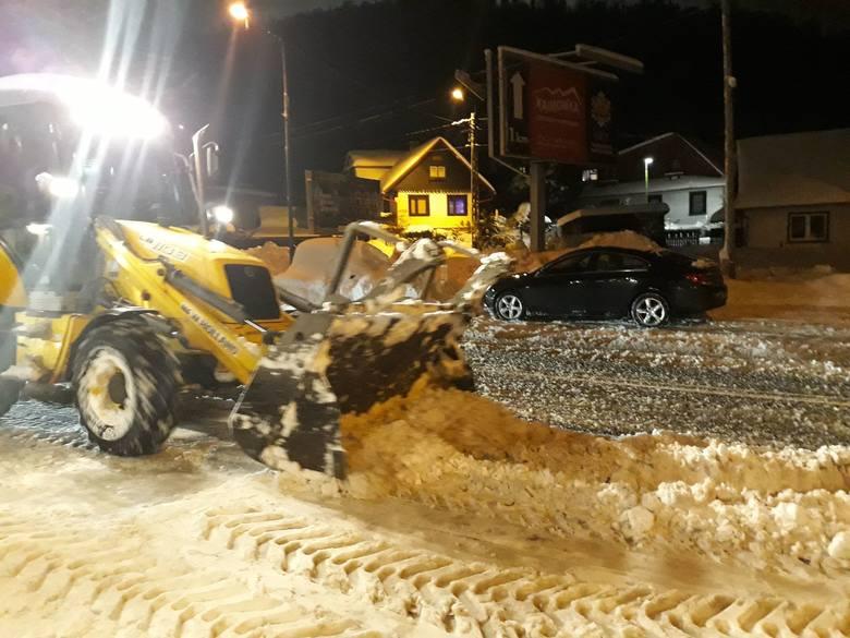 Zima w Szczyrku. Miasto jest sparaliżowane