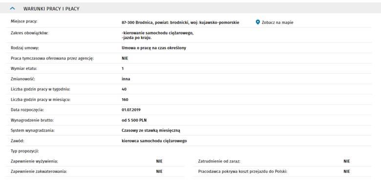 Prezentujemy listę najnowszych ofert pracy w województwie kujawsko-pomorskim. Podajemy propozycje z Centralnej Bazy Ofert Pracy, z zarobkami powyżej