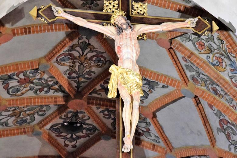 Figura Chrystusa w skrzyni w archikatedrze budziła zaciekawienie wielu osób.