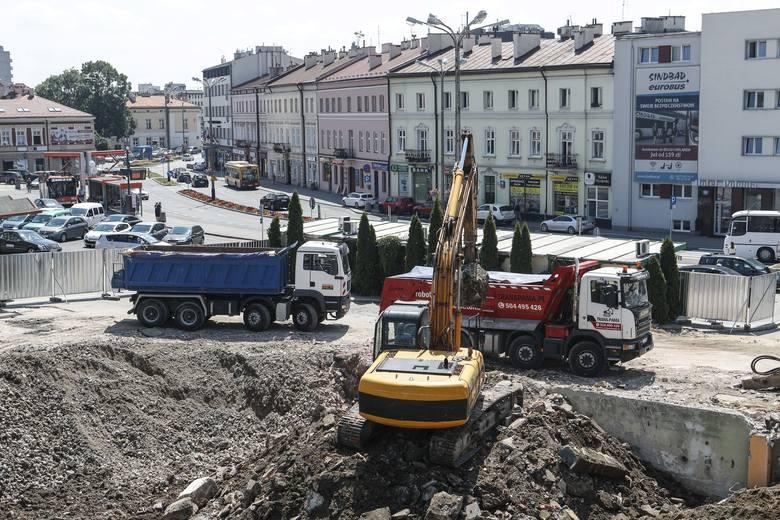Ruszyła przebudowa dworca głównego PKP w Rzeszowie [ZDJĘCIA, WIDEO]