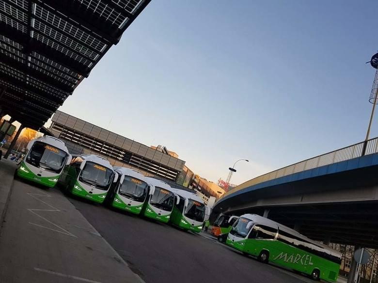 Prywatny przewoźnik Marcel od poniedziałku nie będzie odjeżdżał z parkingu galerii Europa II w Rzeszowie