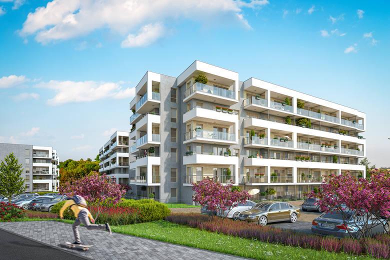 W trakcie przedsprzedaży są mieszkania budynku, który zrealizowany zostanie w pierwszym etapie budowy osiedla Nowy Stok. W budynku numer 1 znajdować