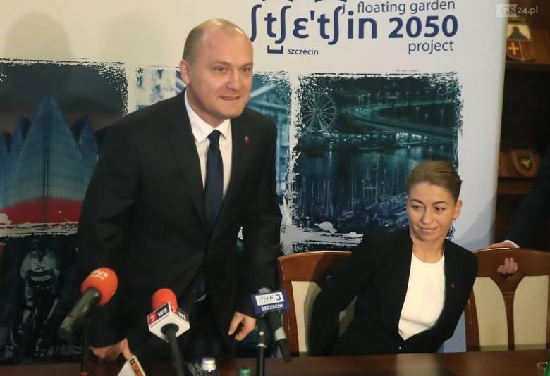 Krzysztof Soska  i Anna Szotkowska