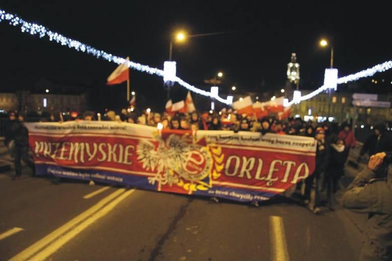 Blisko 2 tys. osób przeszło w Marszu Orląt Przemyskich i Lwowskich.