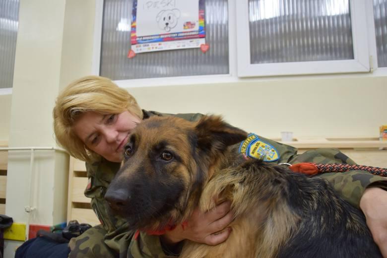 WOŚP OTYŃ 2020 - Arletta Urbanowska i pies Diego
