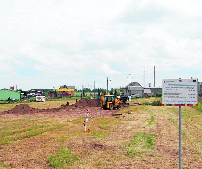 Kolno. Będzie fabryka i pracaNa terenach inwestycyjnych już ruszyły prace przy budowie zakładu produkcyjnego