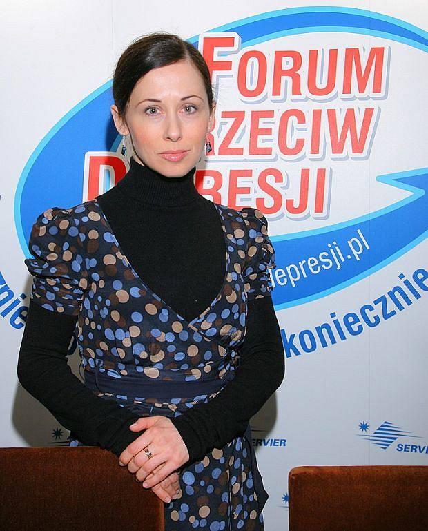 Jolanta Fraszyńska była ambasadorką Ogólnopolskiej  Kampanii Społecznej Forum Przeciw Depresji<br />