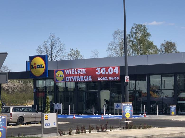 W czwartek 30 kwietnia zostanie otwarty kolejny sklep sieci Lidl w Łodzi. CZYTAJ DALEJ NA NASTĘPNYM SLAJDZIE
