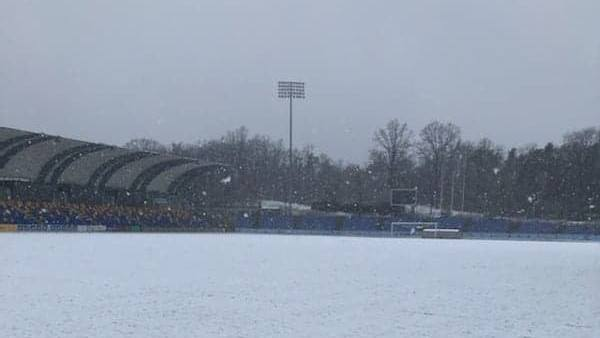 Stadion w Puławach.