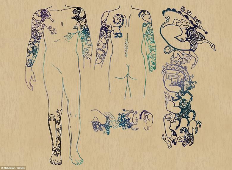 Tatuaże księżniczki