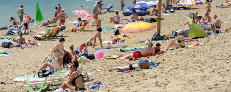 Plaża Ostrów (powiat przemyski)Ośrodek rekreacyjno-wypoczynkowy zlokalizowany jest na żwirowni. Ma wyznaczoną strefę do pływania i ratowników. Idealne